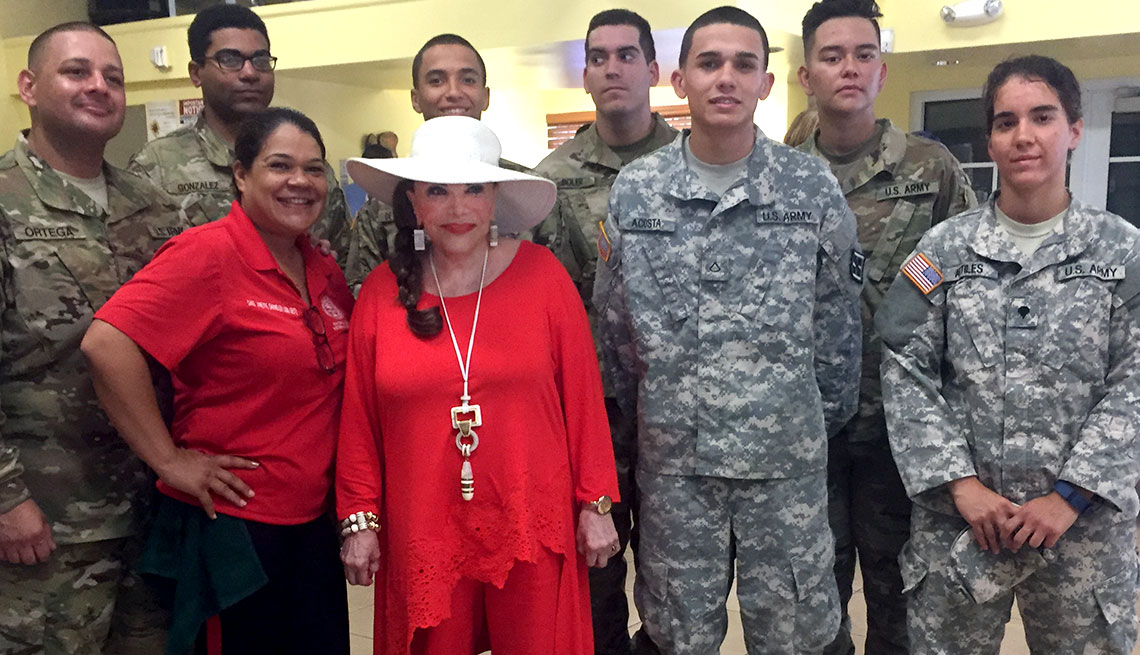 On Friday, May 12, 2017, Connie visited the Miami Homeless Veterans Project while lending her support in promoting this national outreach effort.