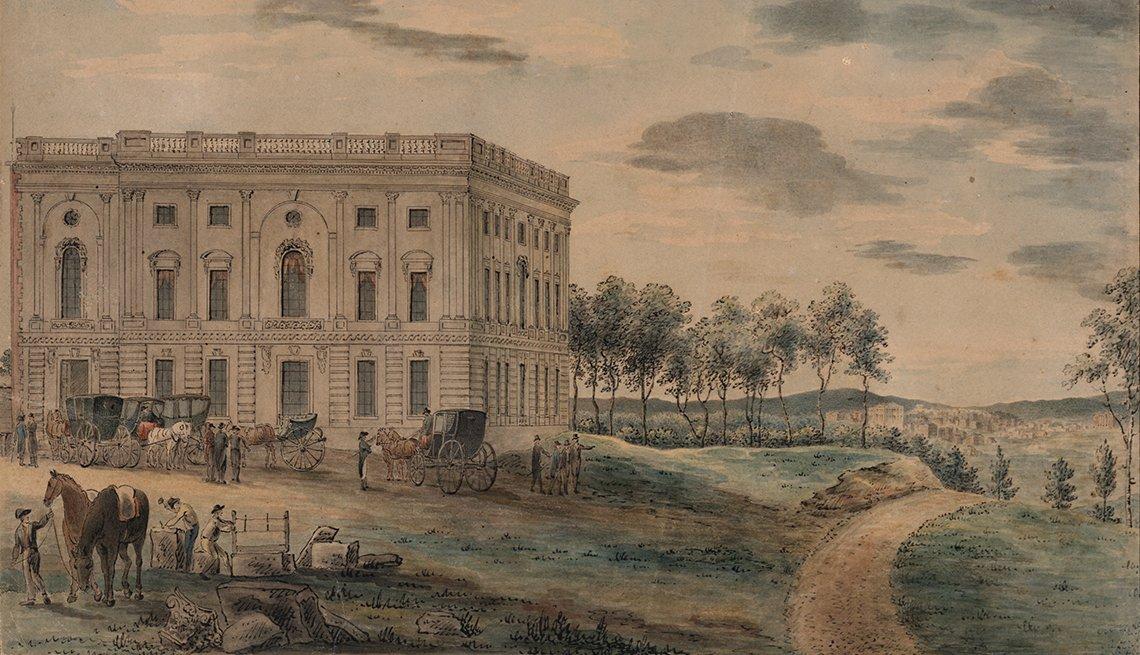 Pintura de la Casa Blanca