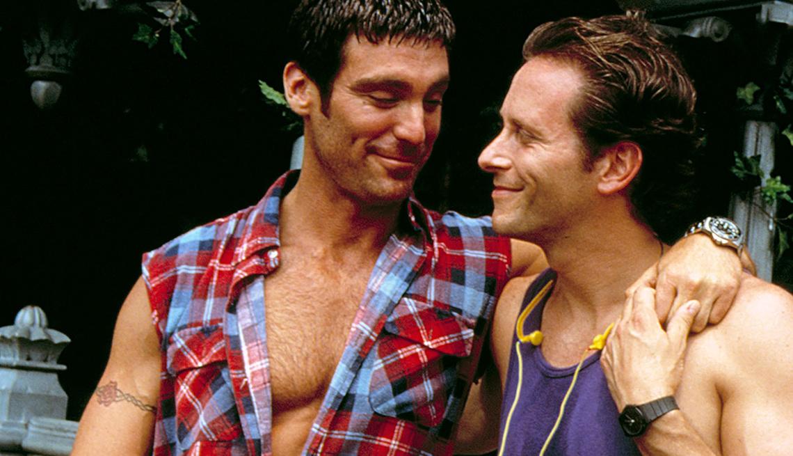 Michael Weiss y Steven Weber estrellas de Jeffrey.