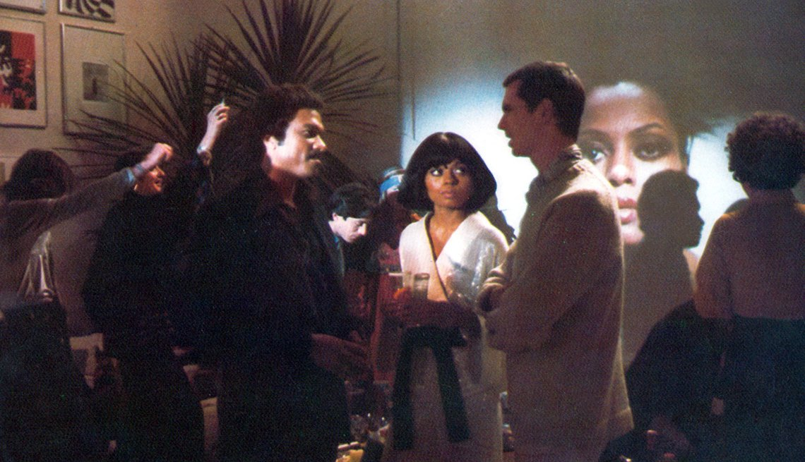Foto Billy Dee Williams, Diana Ross y Anthony Perkins en la película Mahogany