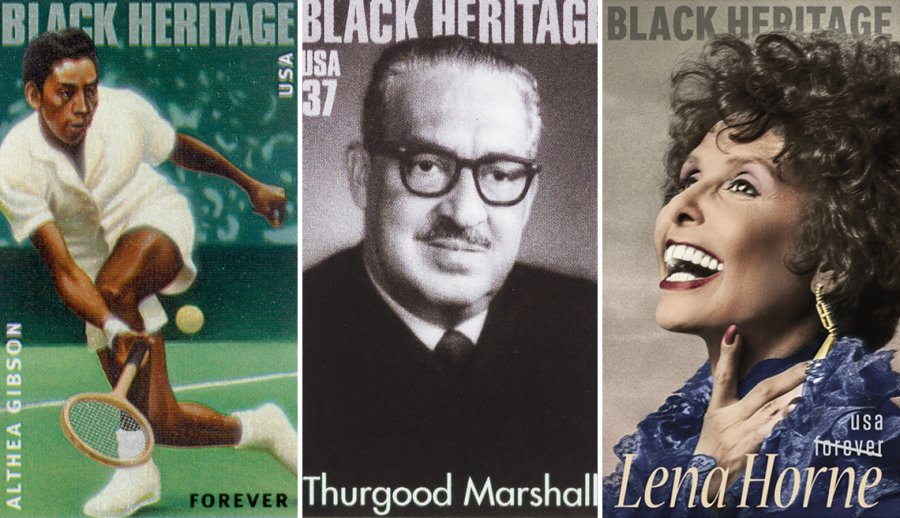 African American Stamp Of Honor Black History Month 2018