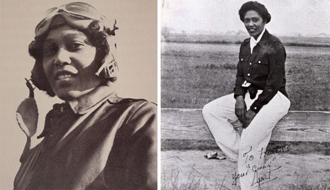 African American Pilot Janet Bragg