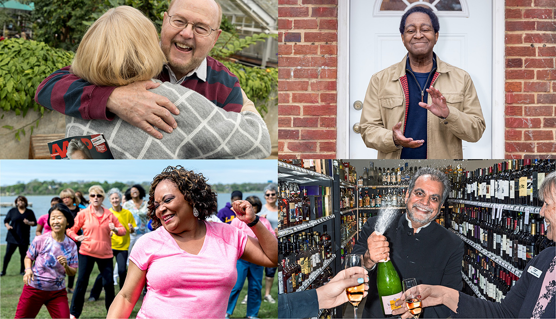 Profile stories for AARP's 60th Anniversary