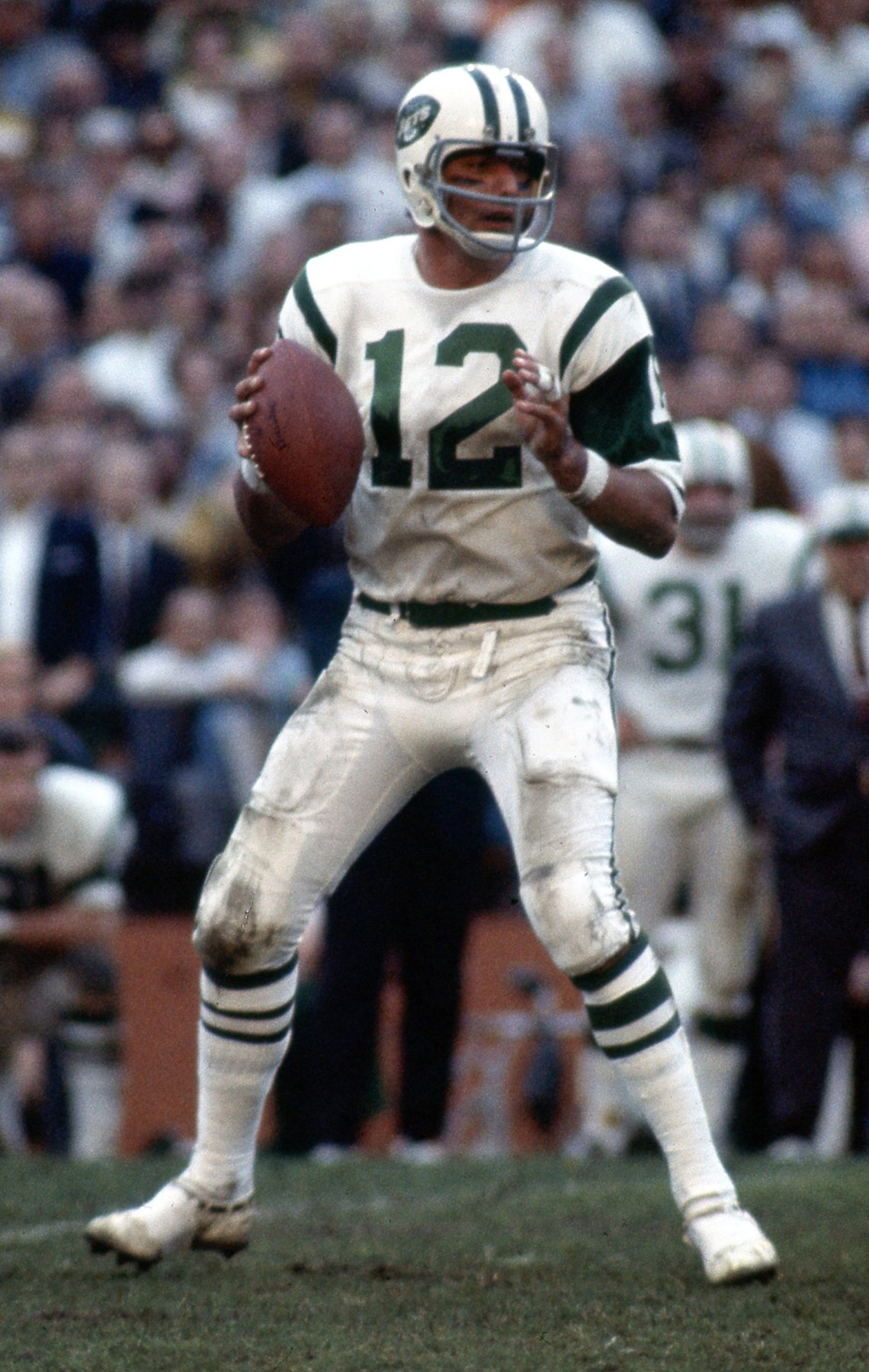 N F L Jets quarterback Joe Namath