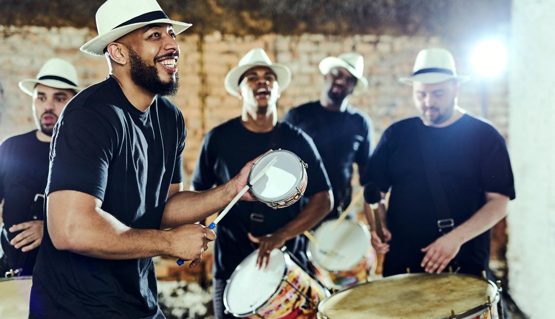 Grupo de música tropical