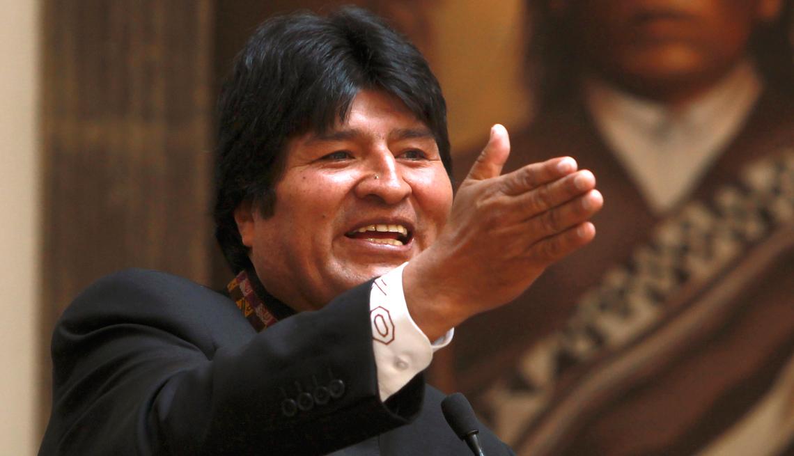 item 22 of Gallery image - Evo Morales