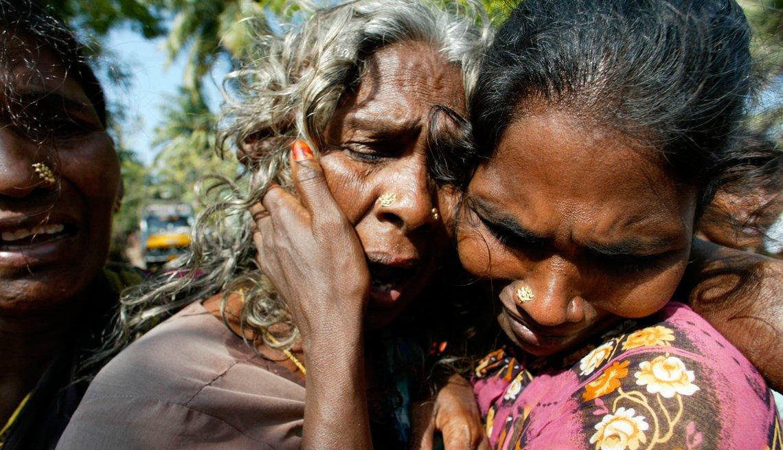 Dos mujeres indígenas