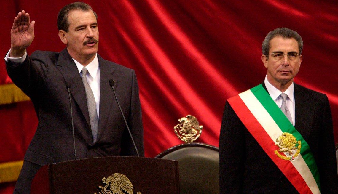 Toma de posesión de Vicente Fox Quesada