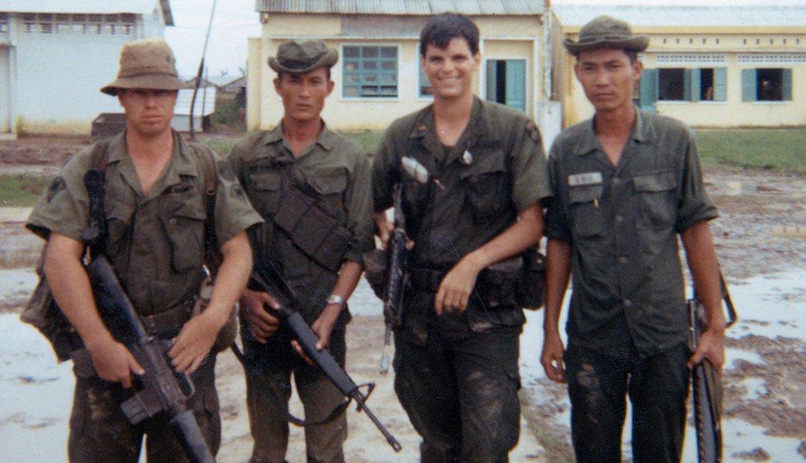 John Rivers during the Vietnam War