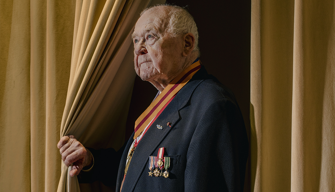 Retired Major General John C Raaen Junior