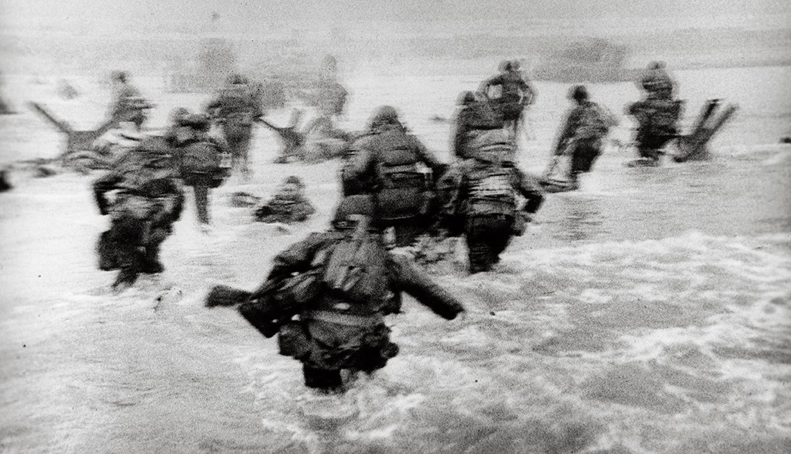 The Story Behind Robert Capa's Famous D-Day Photos