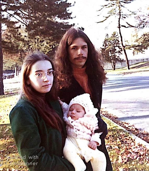 Cindy Matthews, Leah Corcoran and Wil Corcoran circa 1971