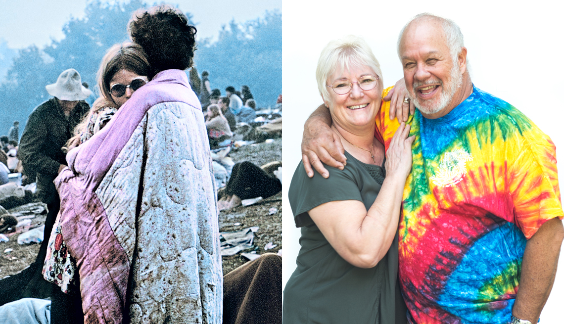 Woodstock Album Cover Couple Discuss Festival and Family