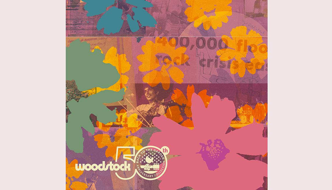 item 9 of Gallery image - Woodstock 50 album cover