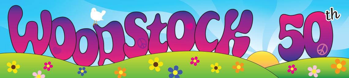 Woodstock banner