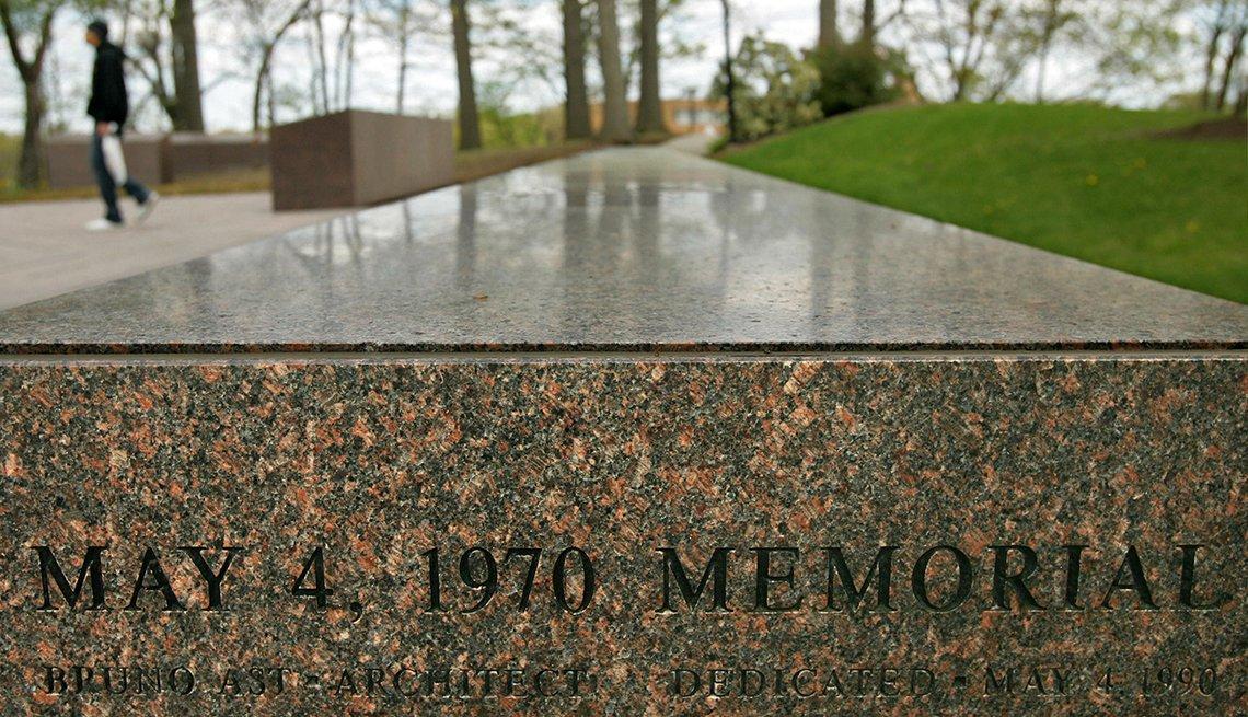 Memorial at Kent State University