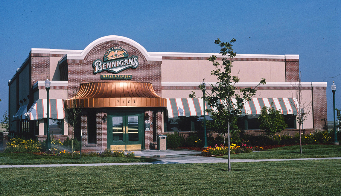 item 2 of Gallery image - storefront of a bennigans restaurant as seen from the road