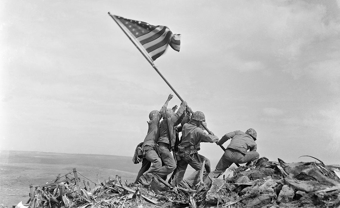 Levantamiento de la bandera de Iwo Jima