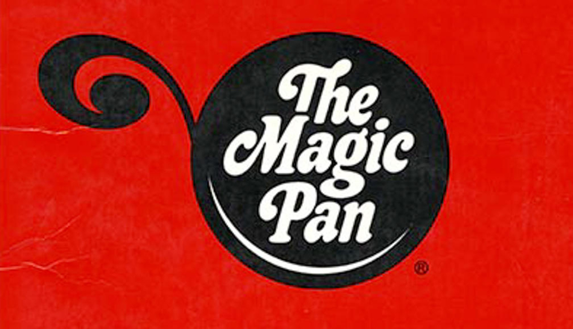 item 7 of Gallery image - logo of the defunct restaurant chain called the magic pan