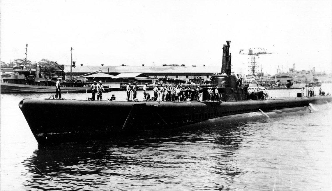 The submarine U S S Tang