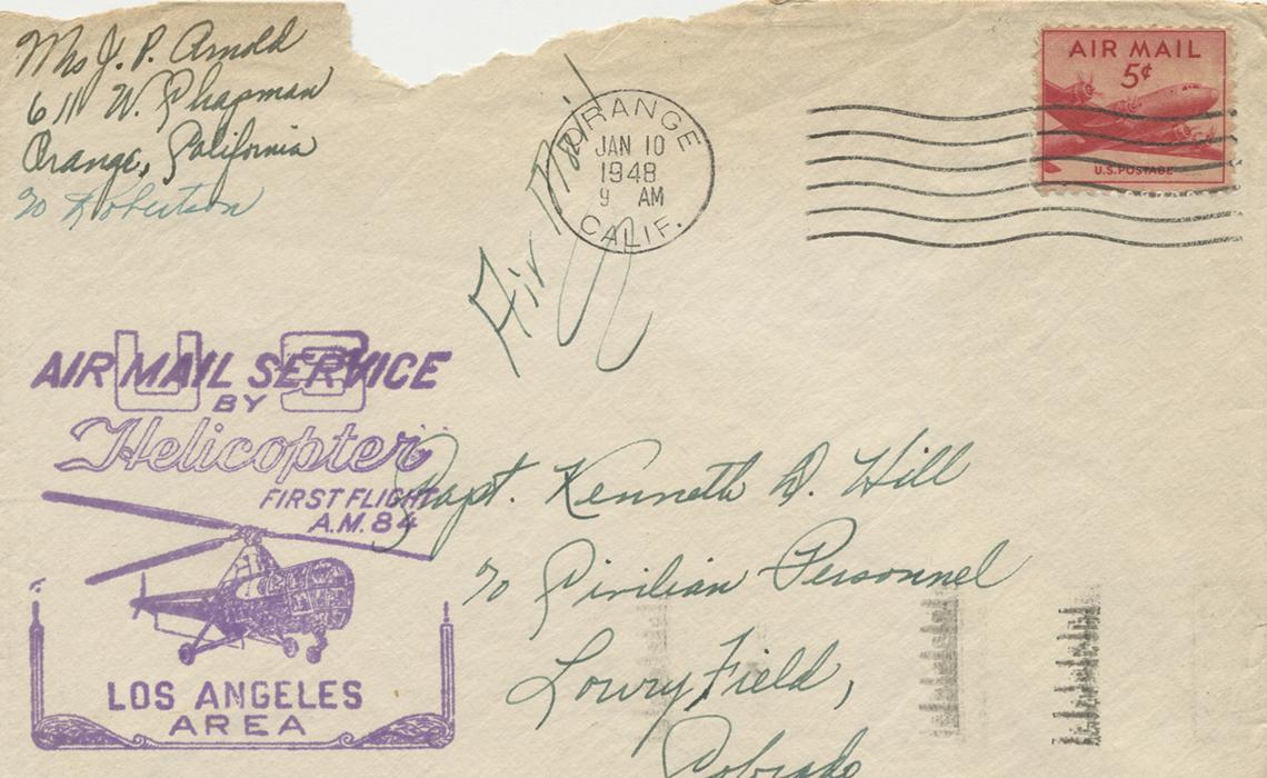 Una carta de la época de la Segunda Guerra Mundial