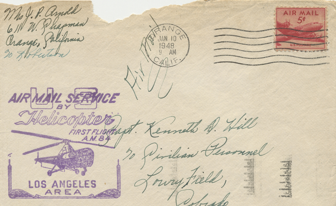 A letter from World War Two