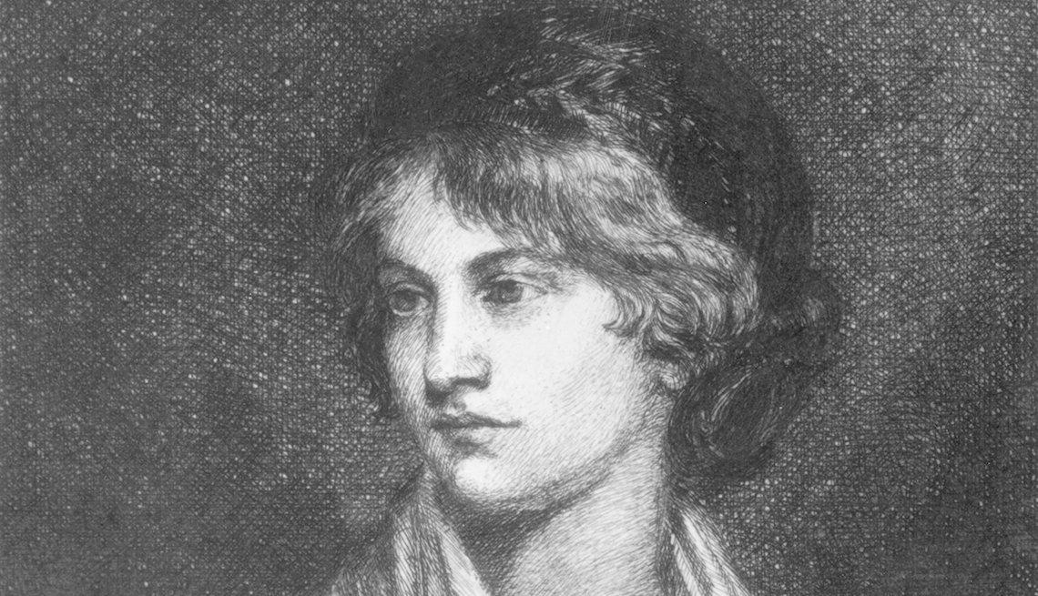 item 1, Gallery image. English writer and philosopher Mary Wollstonecraft.