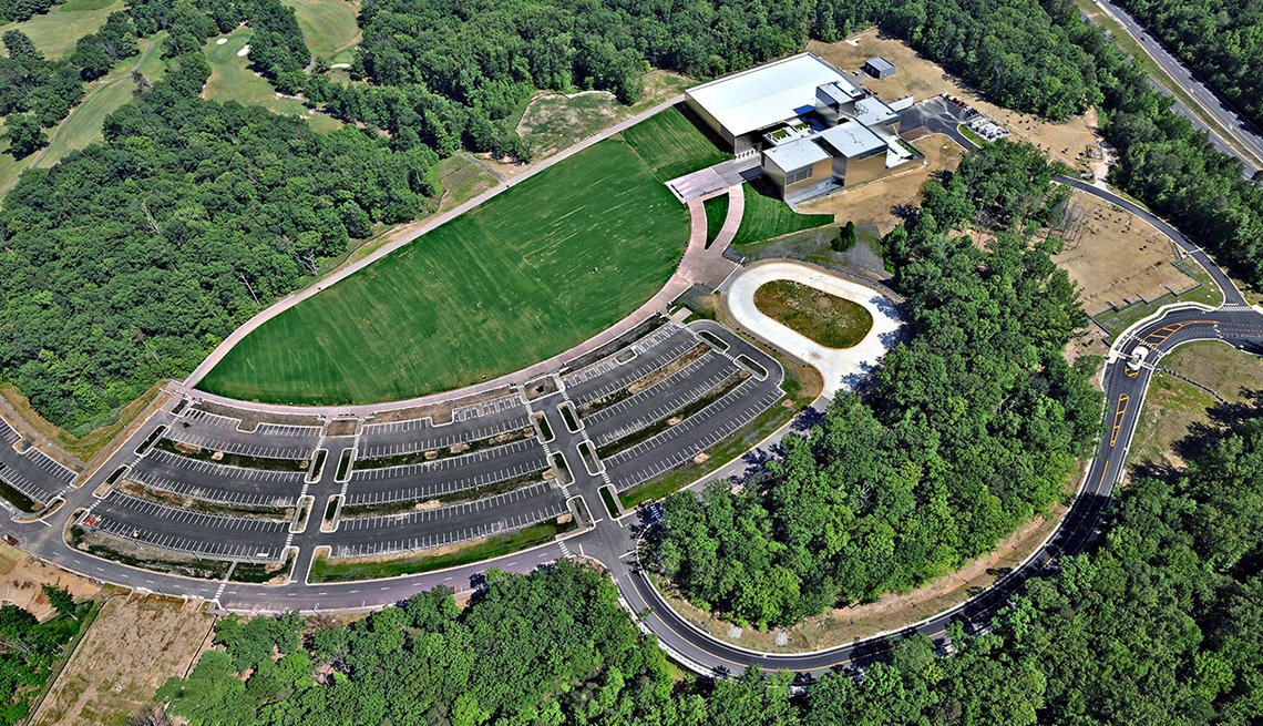 item 11 of Gallery image - aerial shot of he national museum of the united states army