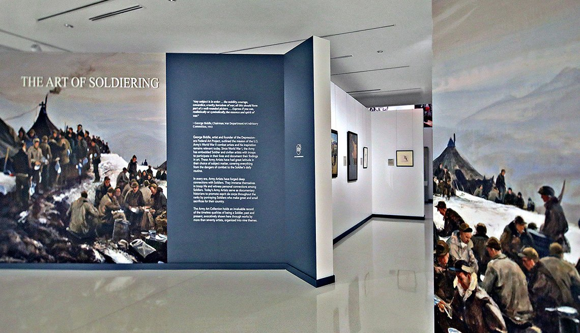 item 5 of Gallery image - the art of soldiering exhibit at the national museum of the united states army