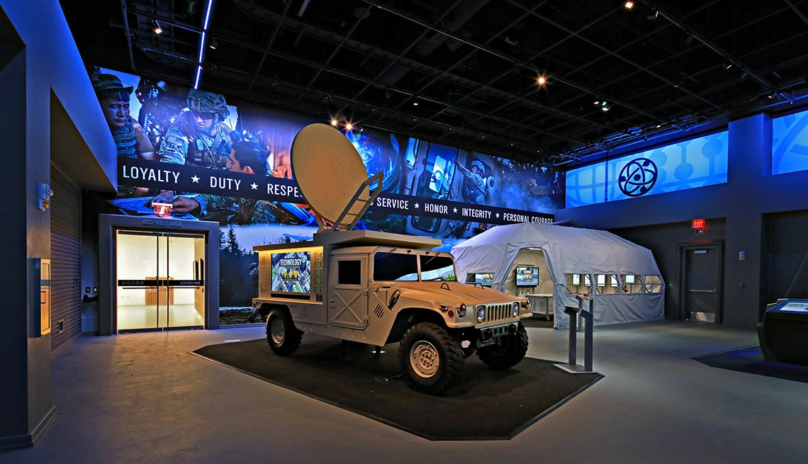 item 2 of Gallery image - experiential learning center at the national museum of the united states army