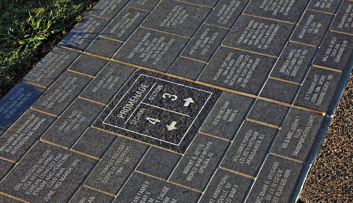 item 9 of Gallery image - the path of remembrance outdoors at the national museum of the united states army