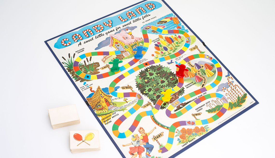 item 7 of Gallery image - the original candy land board game