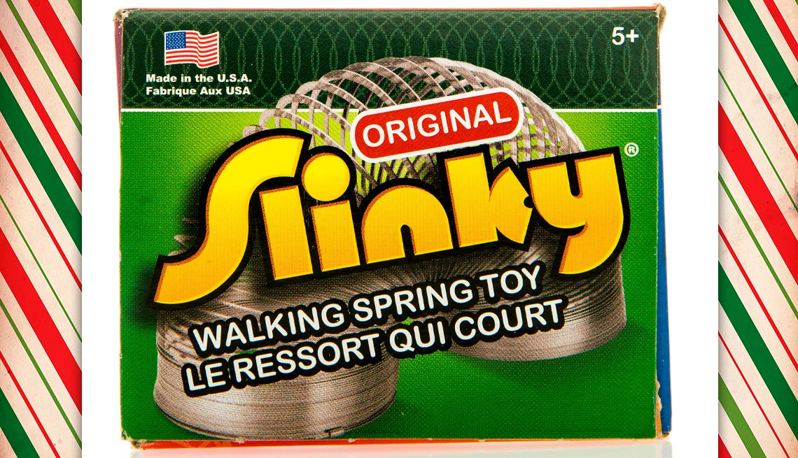 item 6 of Gallery image - vintage slinky toy box