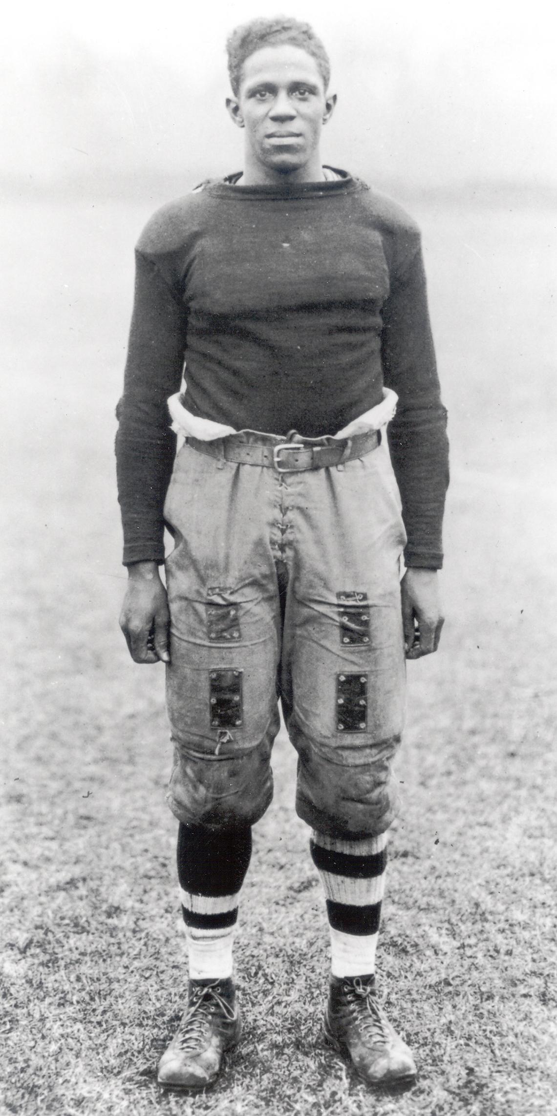 Fritz Pollard, jugador de fútbol americano
