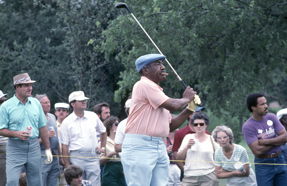 a photo of golfer charlie sifford
