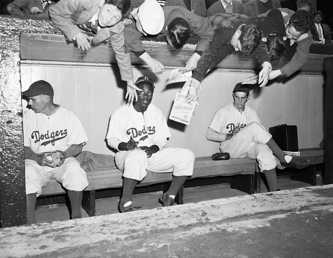 Jackie Robinson, beisbolista