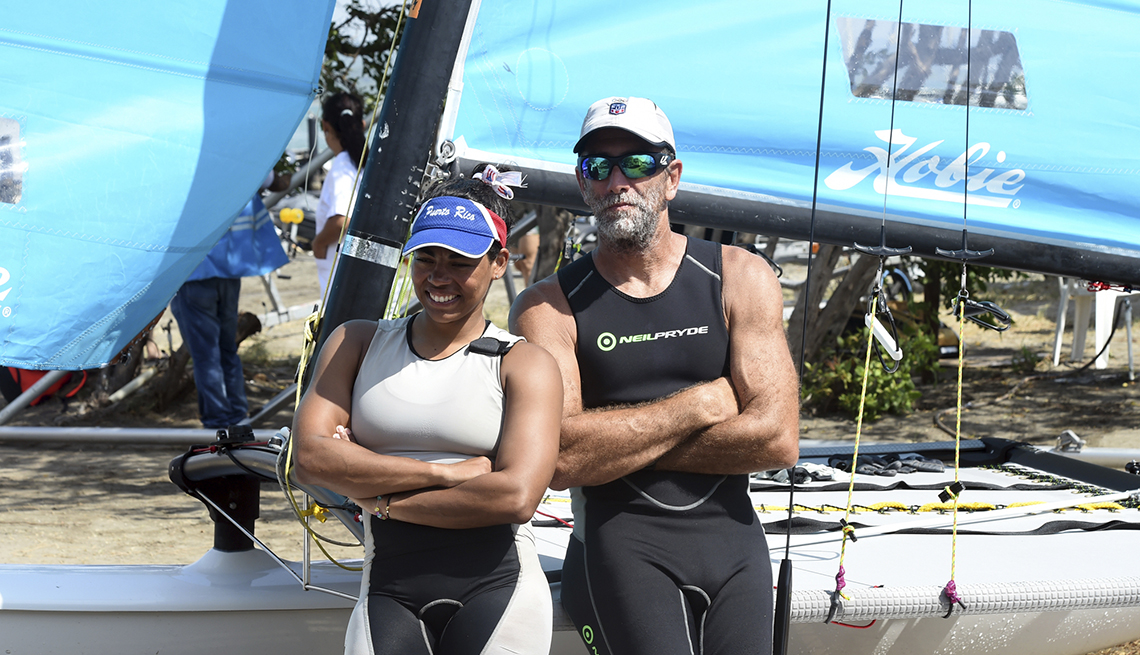 item 10 of Gallery image - puerto rican olympic sailor enrique figueroa