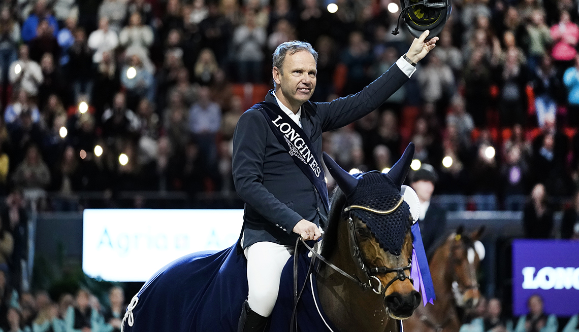 item 3 of Gallery image - olympic equestrian geir gulliksen from norway