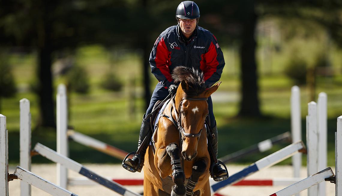 Phillip Dutton monta a caballo