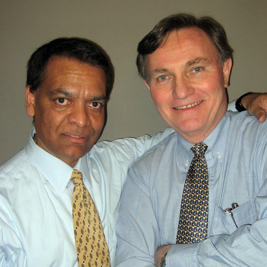 Stanley Painmath y Brian Clark
