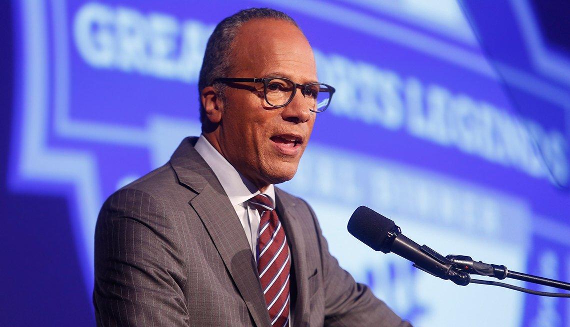Lester Holt is moderator for a 2016 presidental debate