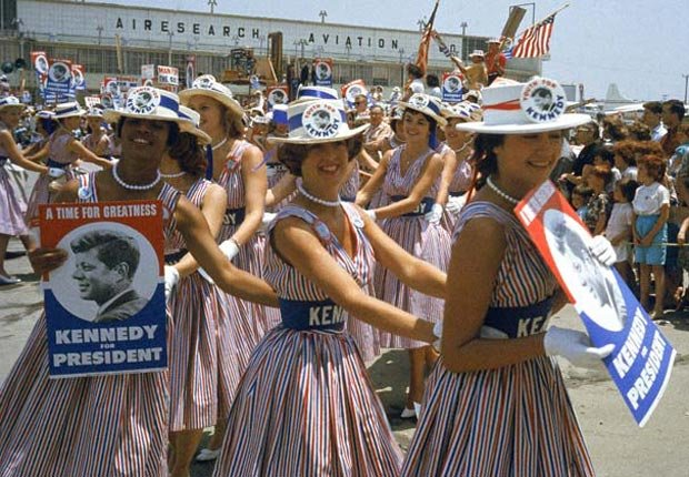 Kennedy Cutties 1960, DNC historic moments