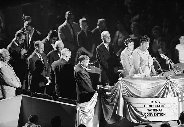 AARP SLIDESHOW - A Who's Who of Celebrity Appearances at DEM Conventions - Mahalia Jackson