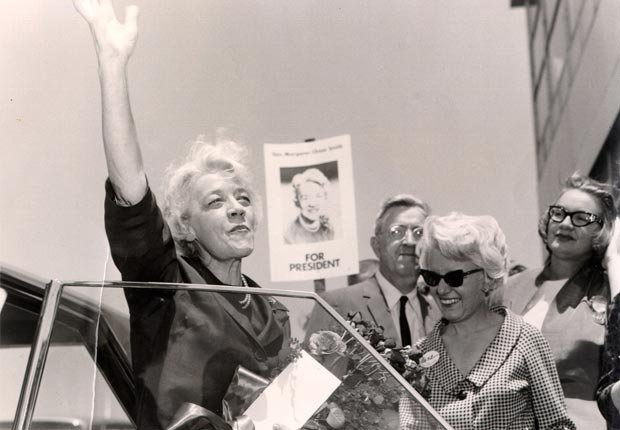Margaret Chase Smith, historic moments at the Republican Convention