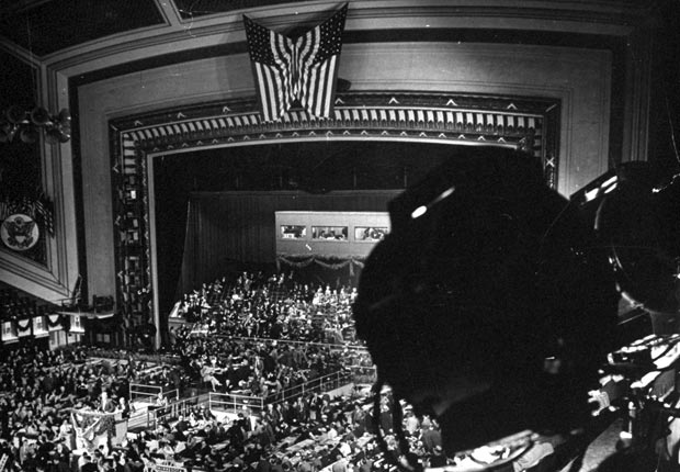 first televised, historic moments at the Republican Convention