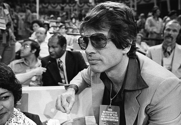 AARP SLIDESHOW - A Who's Who of Celebrity Appearances at DEM Conventions - Warren Beatty