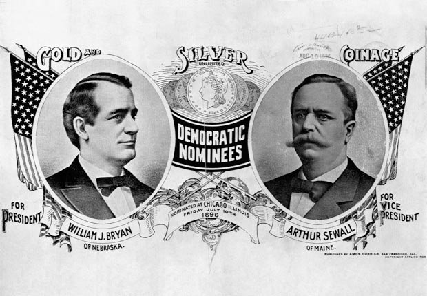 William Jennings Bryan 1896, DNC historic moments