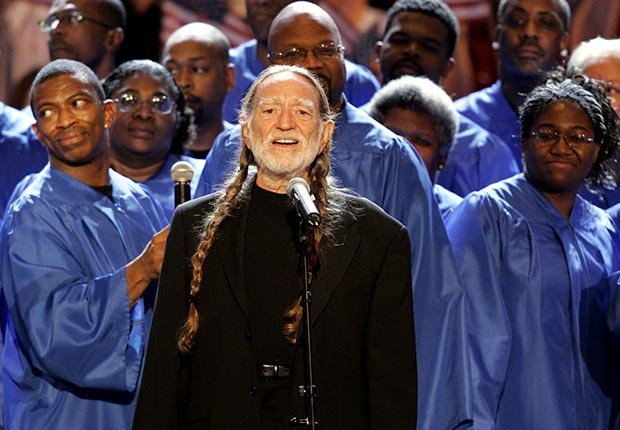 AARP SLIDESHOW - A Who's Who of Celebrity Appearances at DEM Conventions - Willie Nelson