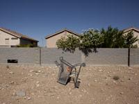 abandoned shopping cart, foreclosures Nevada