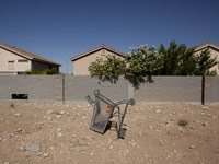 abandoned shopping cart, foreclosures Nevada